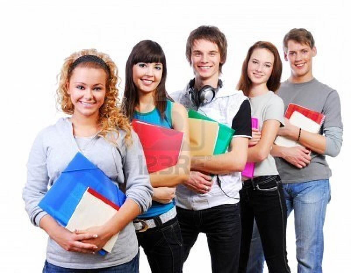 3971143-row-of-smiling-students-standing-with-books-white-background